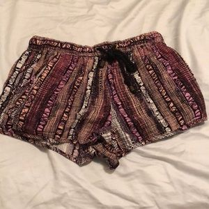 forever 21 pattern shorts